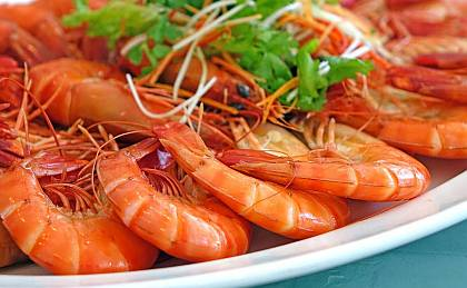 Our King Prawns are one of the crowning jewels among our seafood selection