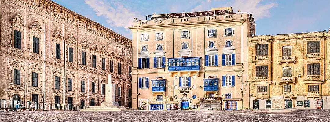 A superior category three-star hotel located in the heart of Malta's historic capital city, Valletta