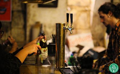 Situated in the cellars of the Castille Hotel and boasts a huge selection of craft beers