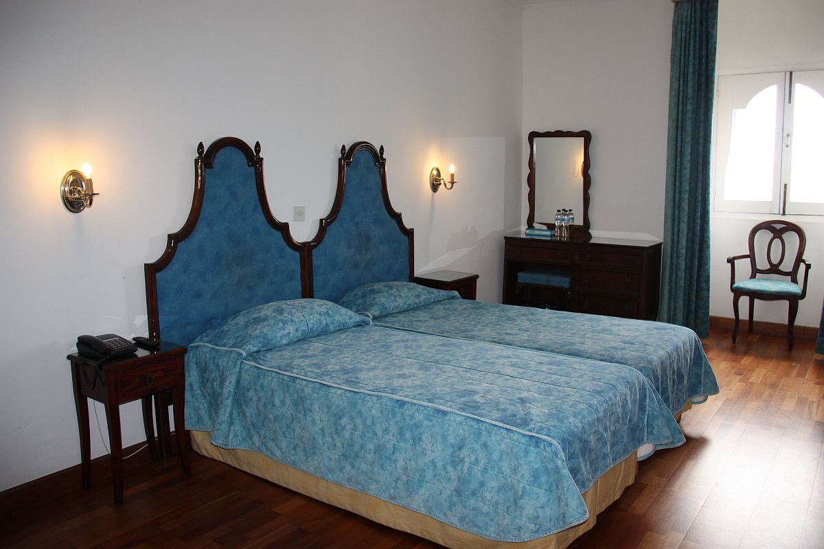 Standard Twin room with views of Castille Square