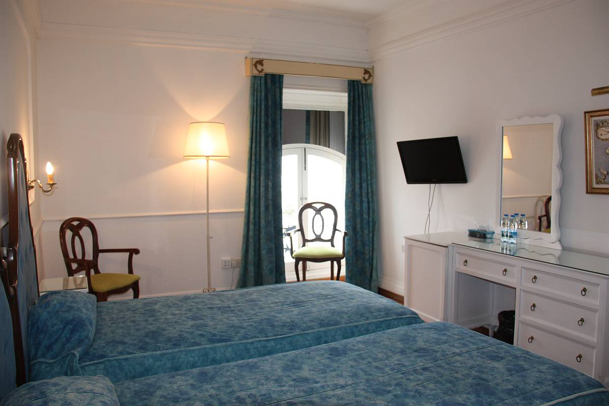 Standard Twin room with views of St. Paul Street, Valletta