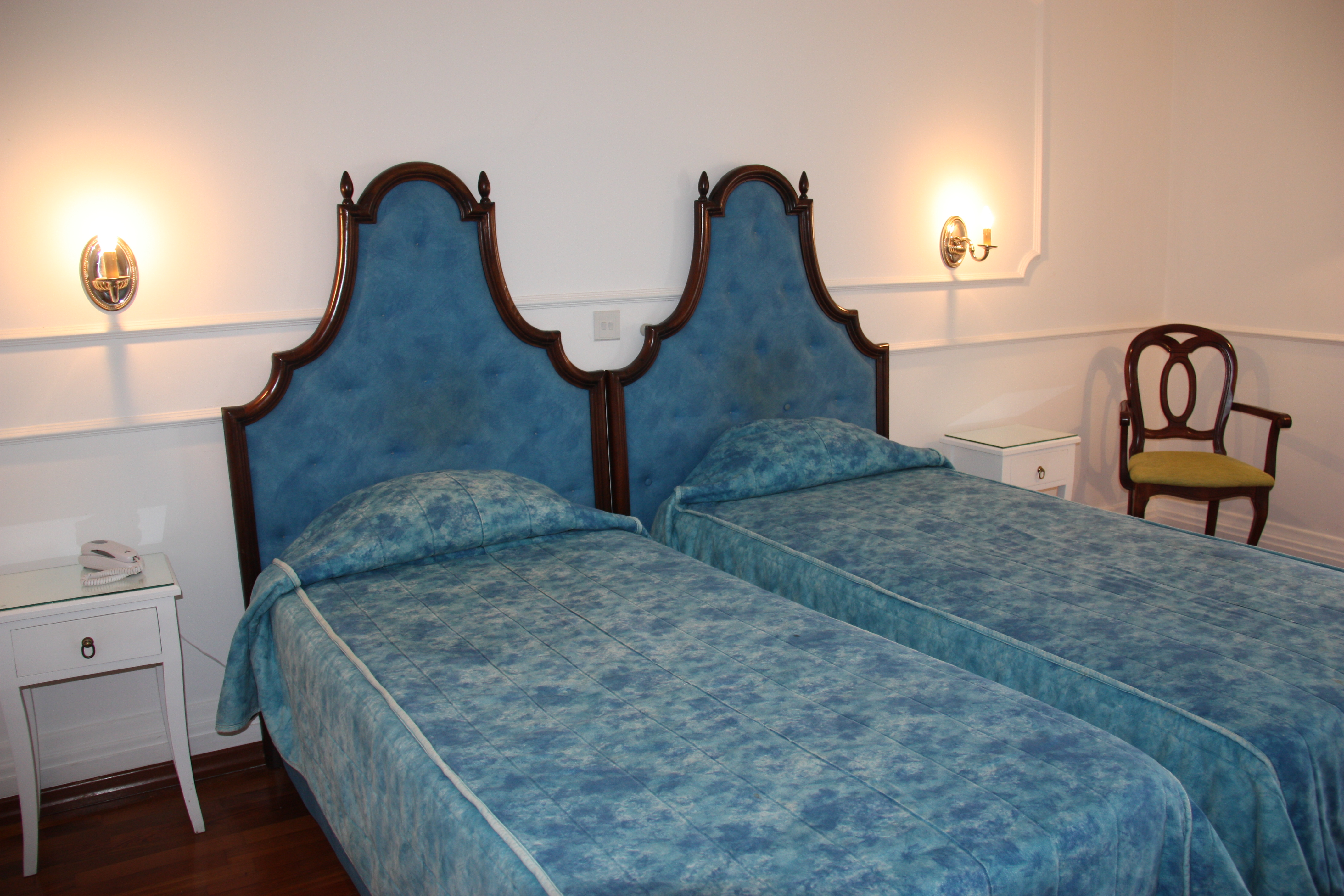 Spacious and comfortable Standard Twin room at Castille Hotel in Valletta